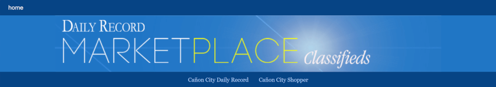 Classified Ads - Canon City Daily Record Classifieds - Canon