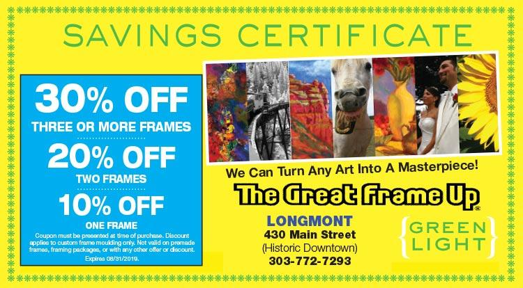 Coupon: The Great Frame Up - 30% Off Three Or More Frames - What is your style?