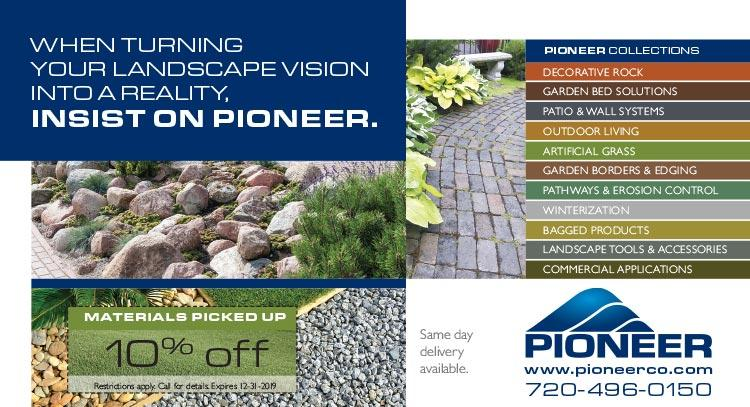 Coupon: Pioneer Sand - 10% Off Materials Picked Up - The Nation's Largest Landscaping Material Supplier