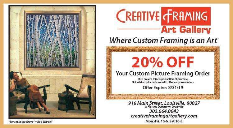 Coupon: Creative Framing & Art Gallery - 20% Off Custom Framing - Art Walk | Friday, December 7th, 2018 6-9pm