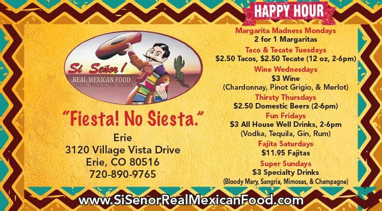 Coupon: Si Senior Real Mexican Food -  - Delicious & Authentic  Mexican Cuisine