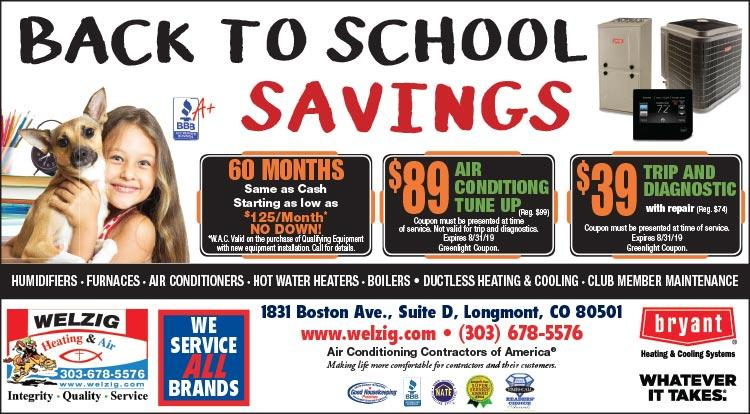 Coupon: Welzig Heating and Air - $89 Air Conditioning Tune Up - 24 Hour Emergency Service - Call 303-678-5576