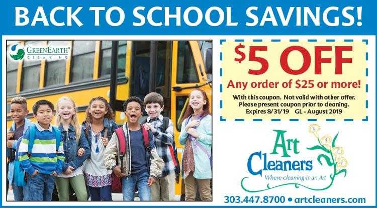 Coupon: Art Cleaners - $5 Off Any $25+ Order - An Environmentally Friendly Cleaner in Boulder, CO
