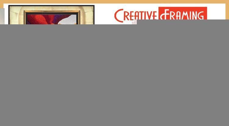 Coupon: Creative Framing & Art Gallery - 20% Off Custom Framing - Art Walk   Friday, December 7th, 2018 6-9pm