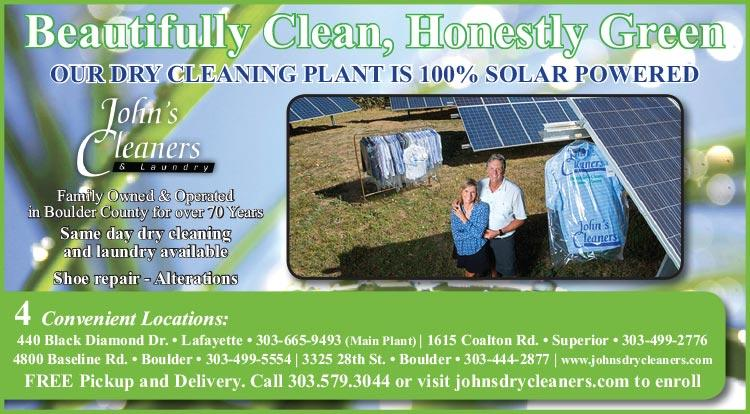 Coupon: John's Cleaners & Laundry -  - PROVIDING EXCEPTIONAL DRY CLEANING SERVICE FOR BOULDER, SUPERIOR, LAFAYETTE AND MORE!