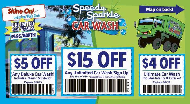 Coupon: Speedy Sparkle Car Wash - $5 Off Any Deluxe Car Wash - Your Best Car Wash in Loveland