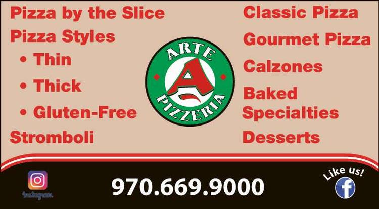 Coupon: Arte Pizzeria - Gourmet Pizza - Best Pizza By The Slice in Loveland, Colorado