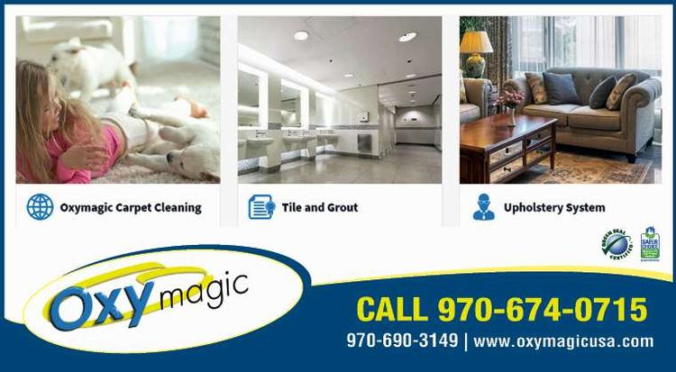 Coupon: Oxy Magic of Windsor - Call 970-674-0715 - Carpet Cleaning Powered By Oxygen