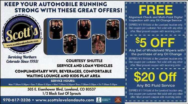Coupon: Scott's Automotive & Service Centers - Free Alignment Check - Full Service Auto Repair
