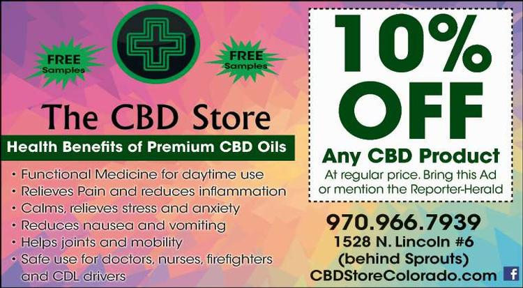 Coupon: THE CBD STORE - 10% Off Any CBD Product - Discover the natural medicinal benefits of CBD oil
