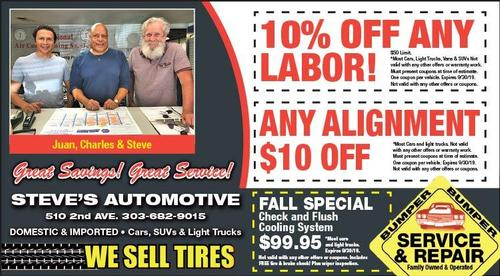 Coupon: Steve's Automotive - 10% Off Any Labor