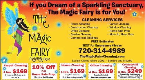 Coupon: The Magic Fairy - 4 Hours House Cleaning $169