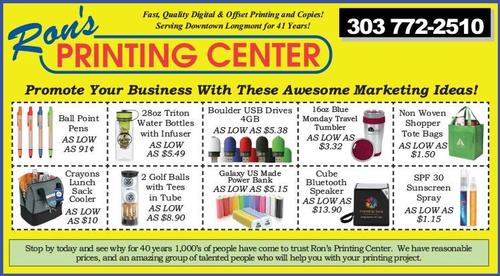 Coupon: Rons Printing Center - Promote Your Business with these Awesome Marketing Ideas