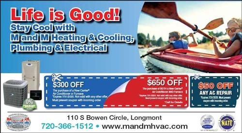 Coupon: M and M Heating Cooling Plumbing - $50 Off Any AC Repair