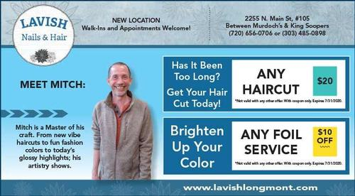 Coupon: Lavish Tan & Nail Salon - Any Haircut $20