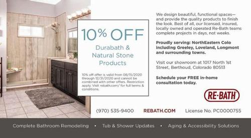 Coupon:  - 10 Off Durabath and Natural Stone