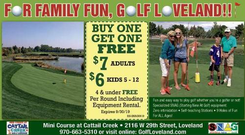 Coupon: City of Loveland - Buy One Get One Free