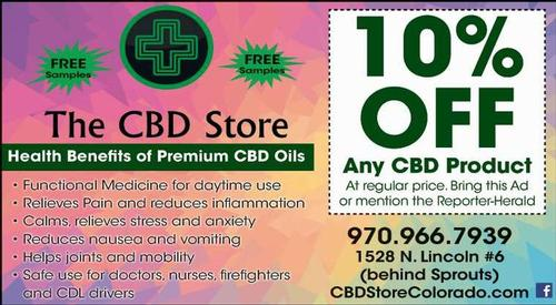 Coupon: THE CBD STORE - 10% Off Any CBD Product