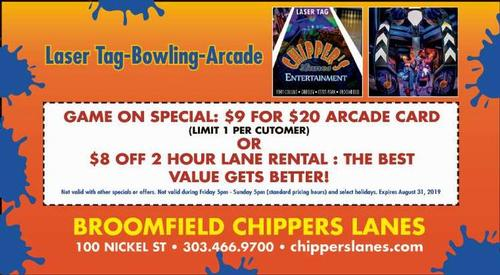 Coupon: Chippers Lanes - $8 Off 2 Hour Lane Rental