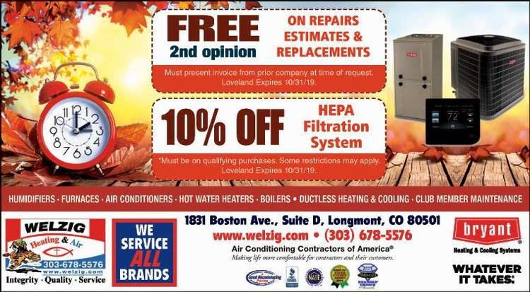 Coupon: Welzig Heating and Air - FREE 2nd Opinion