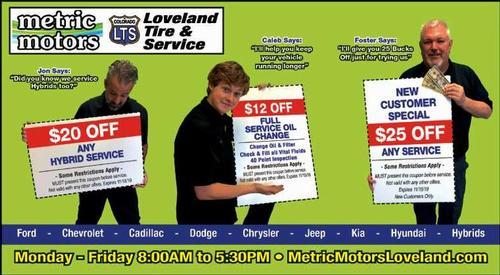 Coupon: Metric Motors - $20 Any Hybrid Service