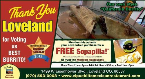 Coupon: El Publito Mexican Restaurant - Free Sopapilla!