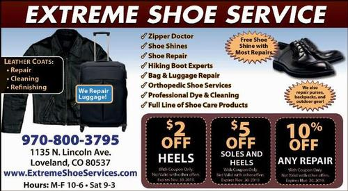 Coupon: Extreme Shoe - $2 Off Heels