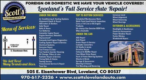 Coupon: Scott's Automotive & Service Centers - Full Service Auto Repair